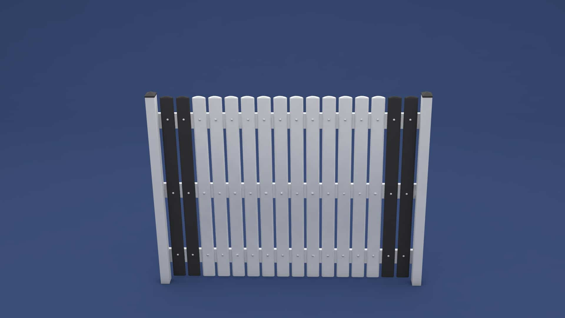 moreplast Kunststoff Zaun Victor