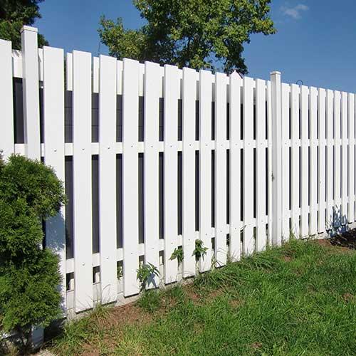 moreplast Zaun aus Kunststoff