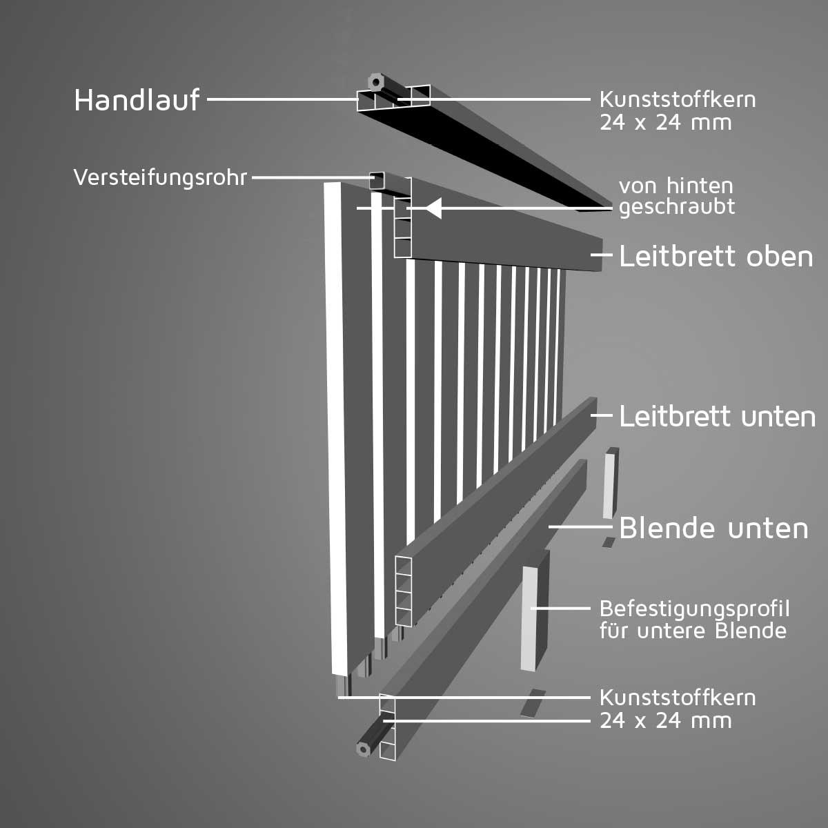 Balkon Hamburg Bausatz Von Moreplast Witterungsbestandig Kaufen