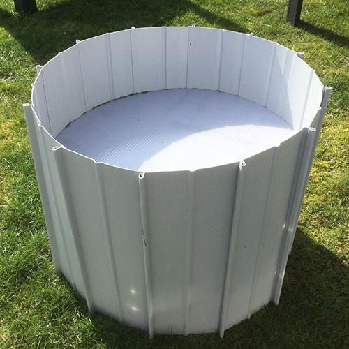 hochbeet rund moreplast der shop f r kunststoff produkte. Black Bedroom Furniture Sets. Home Design Ideas