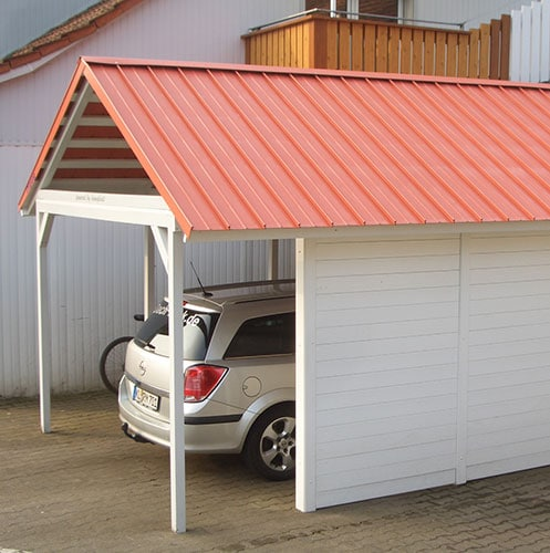 Carport_Dachbahn-rot