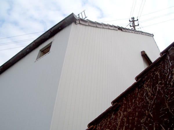 Habillage des murs de la maison