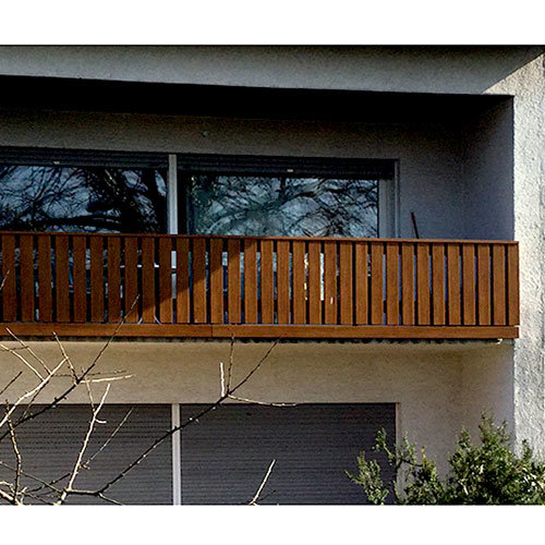 Balkon Kunststoff 2007 gebaut, Bild 2018, Fröhnerhof
