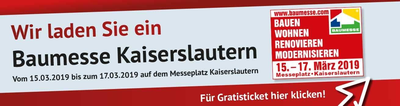 Baumesse Kaiserslautern - Gratisticket